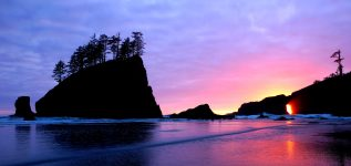 Pacific Sunset Jigsaw Puzzle