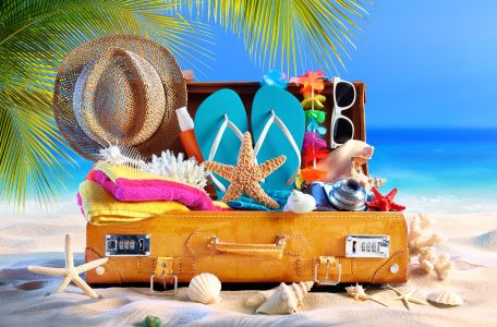 Packed for the Beach Jigsaw Puzzle