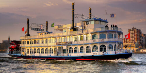 Paddle Steamer Jigsaw Puzzle