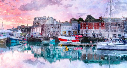 Padstow Harbor Jigsaw Puzzle