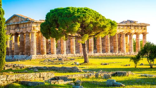 Paestum Temple Jigsaw Puzzle