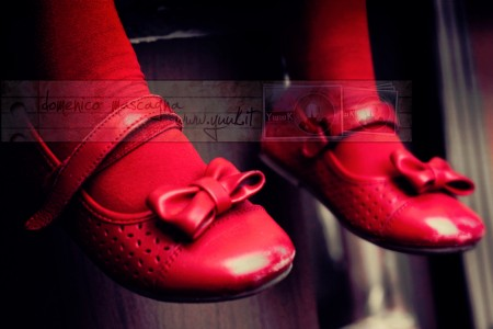 Pair of Red Shoes Jigsaw Puzzle