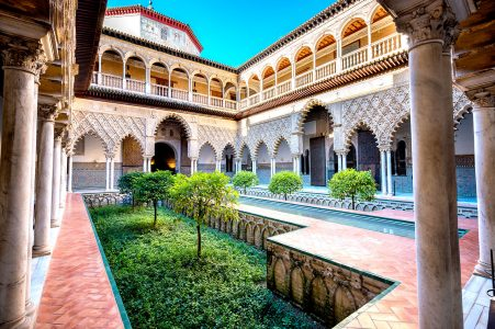 Palace Courtyard Jigsaw Puzzle