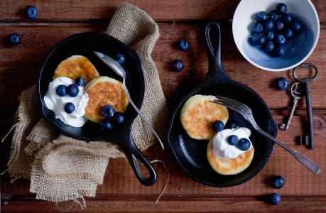 Pancakes and Blueberries Jigsaw Puzzle