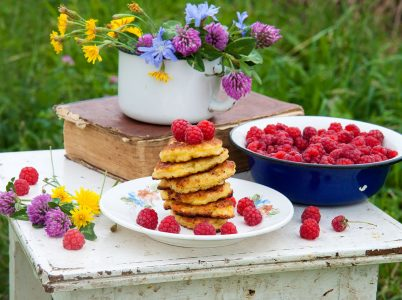 Pancakes and Raspberries Jigsaw Puzzle