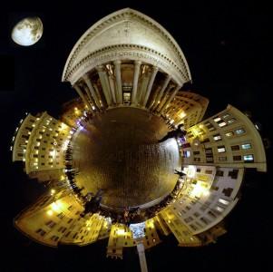 Pantheon Moon Jigsaw Puzzle