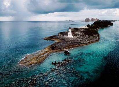 Paradise Island Lighthouse Jigsaw Puzzle