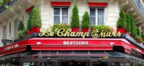 Paris Cafe Sign Jigsaw Puzzle
