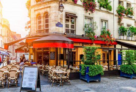 Paris Corner Cafe Jigsaw Puzzle
