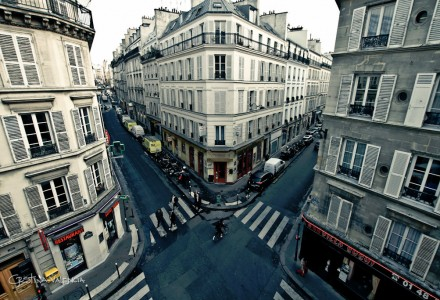 Paris Crossroads Jigsaw Puzzle