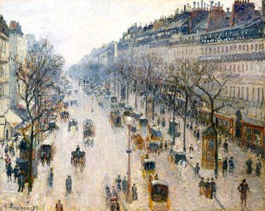 Paris in Winter Jigsaw Puzzle