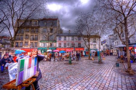 Paris Square Jigsaw Puzzle