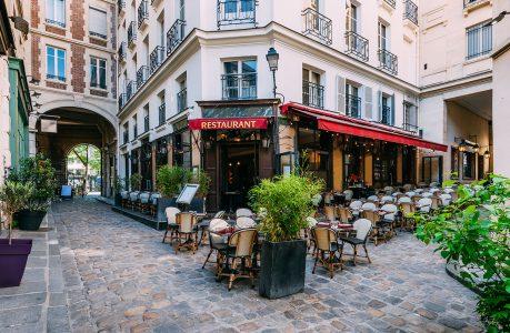 Paris Street Cafe Jigsaw Puzzle