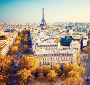 Paris View Jigsaw Puzzle
