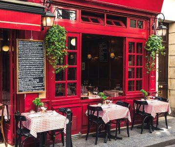 Parisian Cafe Jigsaw Puzzle