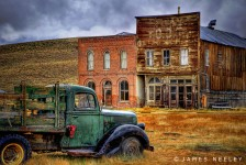 Parked in Bodie Jigsaw Puzzle