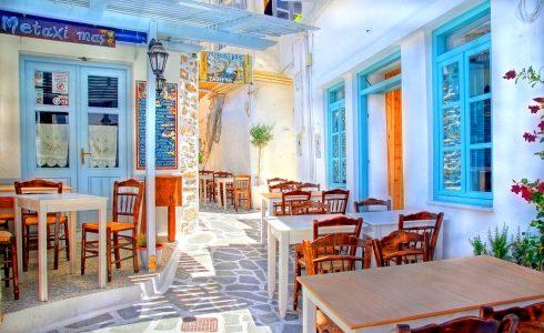 Paros Restaurant Jigsaw Puzzle