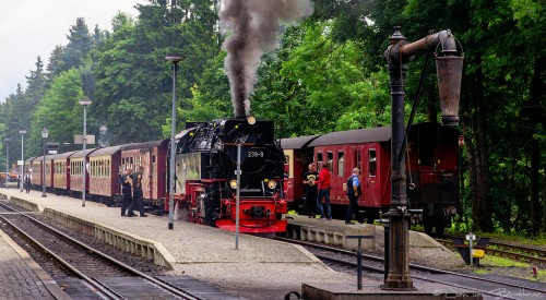 Passing Trains Jigsaw Puzzle