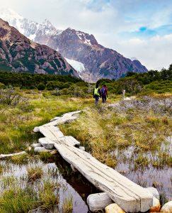 Patagonia Hike Jigsaw Puzzle