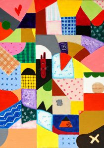Patchwork Painting Jigsaw Puzzle