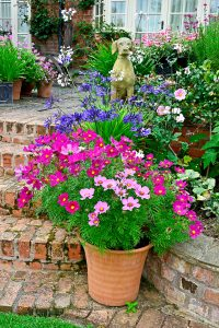 Patio Flowers Jigsaw Puzzle