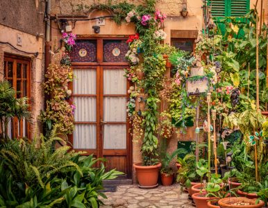 Patio Garden Jigsaw Puzzle