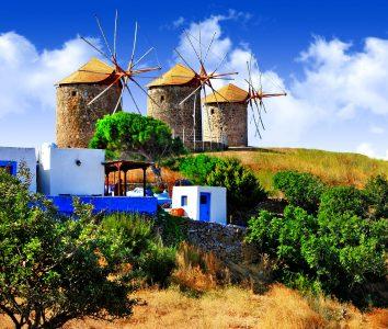 Patmos Windmills Jigsaw Puzzle