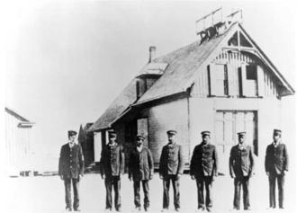 Pea Island station and crew