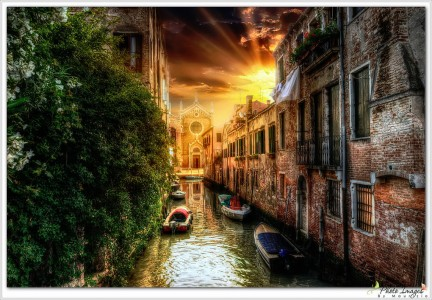 Peaceful Canal Jigsaw Puzzle
