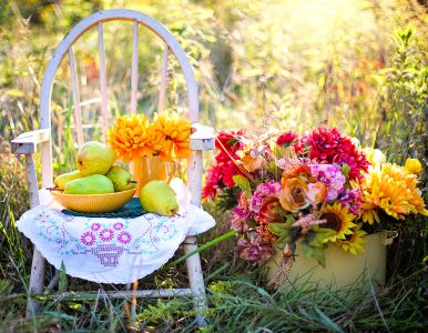 Pears and Flowers Jigsaw Puzzle