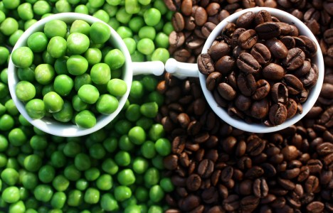 Peas and Coffee Jigsaw Puzzle