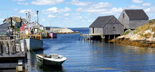 Peggy's Cove Jigsaw Puzzle