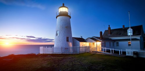 Pemaquid at Dawn Jigsaw Puzzle
