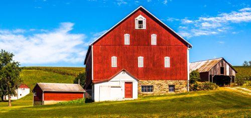 Pennsylvania Barn Jigsaw Puzzle