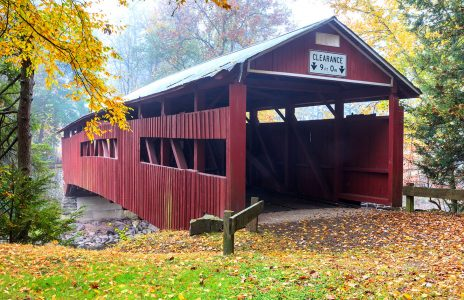 Pennsylvania Covered Bridge Jigsaw Puzzle