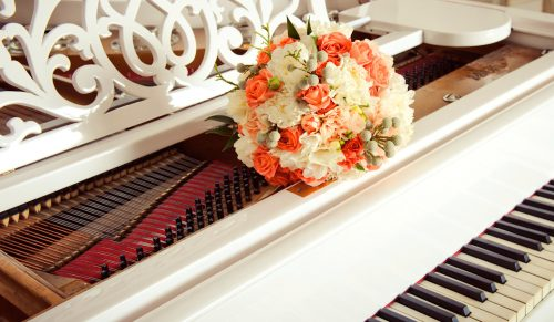 Piano Bouquet Jigsaw Puzzle