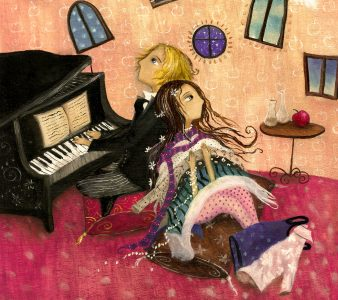Piano Player Jigsaw Puzzle