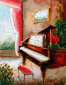 Piano Room Jigsaw Puzzle