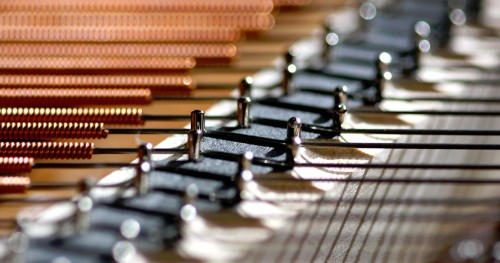 Piano Strings Jigsaw Puzzle