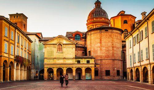 Piazza San Prospero Jigsaw Puzzle