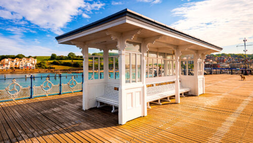 Pier Benches Jigsaw Puzzle