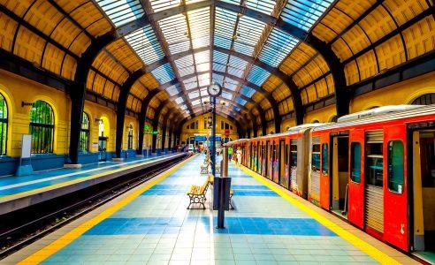 Piraeus Station Jigsaw Puzzle