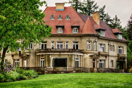 Pittock Mansion Jigsaw Puzzle
