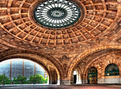 Pittsburgh Train Station Jigsaw Puzzle