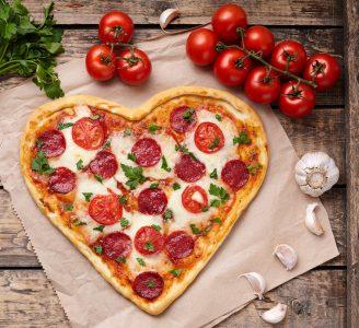 Pizza Heart Jigsaw Puzzle