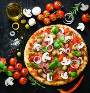 Pizza Ingredients Jigsaw Puzzle