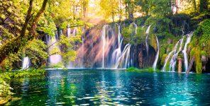 Plitvice Park Waterfalls