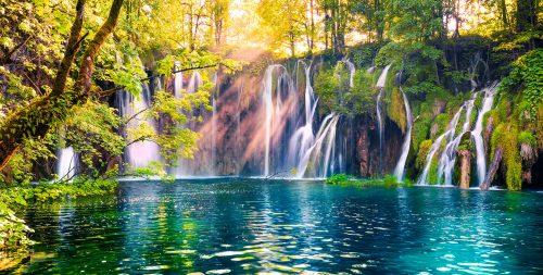 Plitvice Park Waterfalls Jigsaw Puzzle