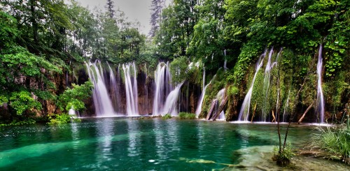 Plitvice Waterfalls Jigsaw Puzzle