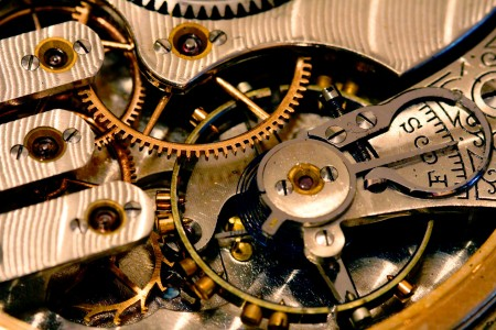 Pocket Watch Gears Jigsaw Puzzle